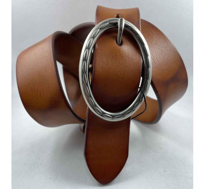 Женский ремень для джинсов Bt.Belt J40-151 коричневый
