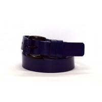 Женский ремень J30-001 темно-синий