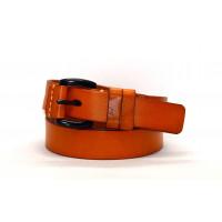 Женский ремень J30-004 оранжевый