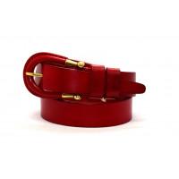Женский ремень для джинсов  J35-012 красный