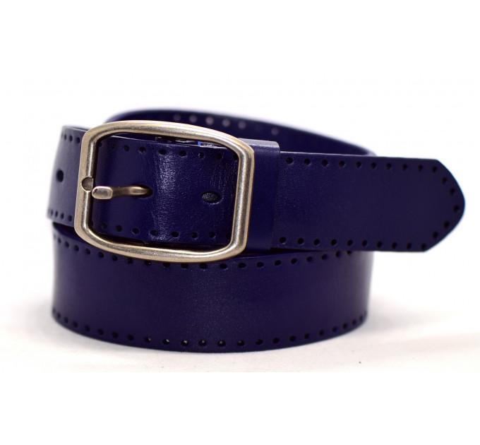 Женский ремень для джинсов J40-008 темно-синий