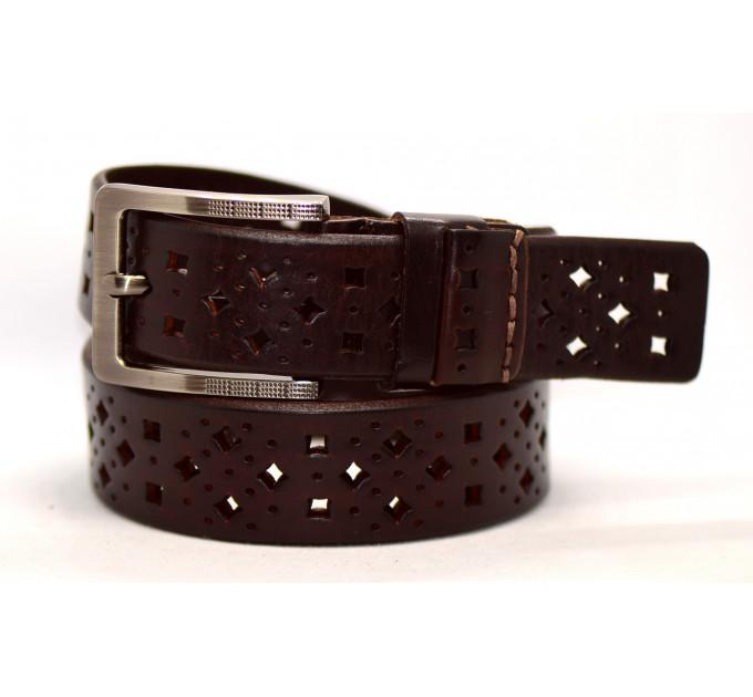 Женский ремень для джинсов J40-048 темно-коричневый