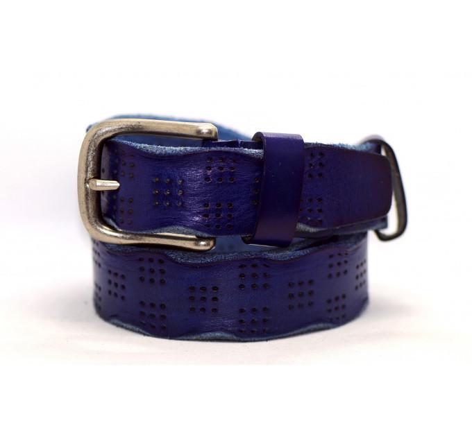 Женский ремень для джинсов J40-056 синий