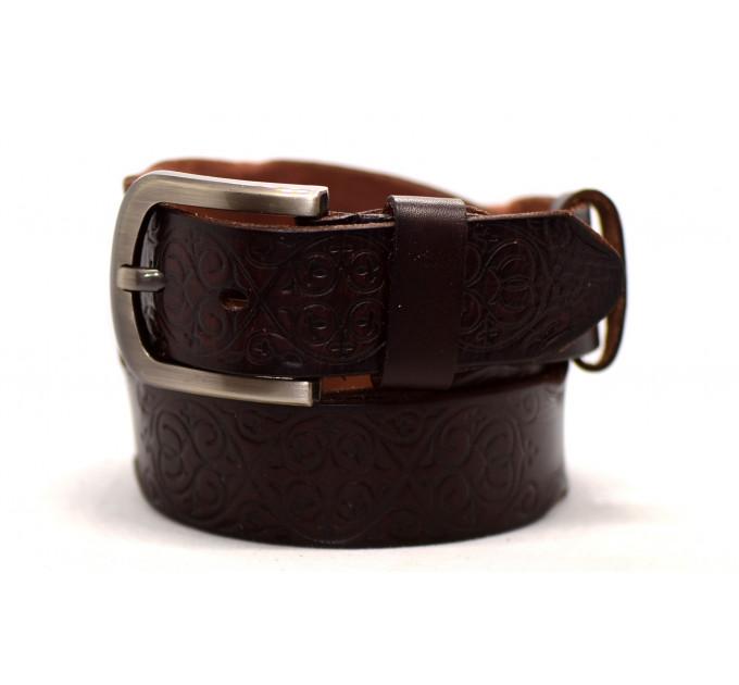 Женский ремень для джинсов J40-070 темно-коричневый