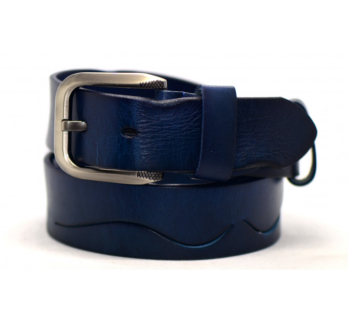 Женский ремень для джинсов J40-088 темно-синий
