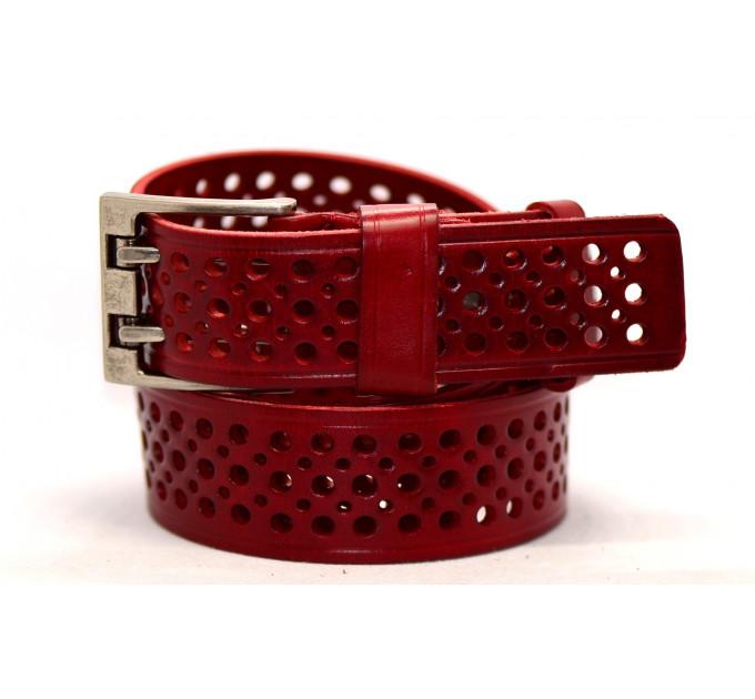 Женский ремень для джинсов J40-097 красный