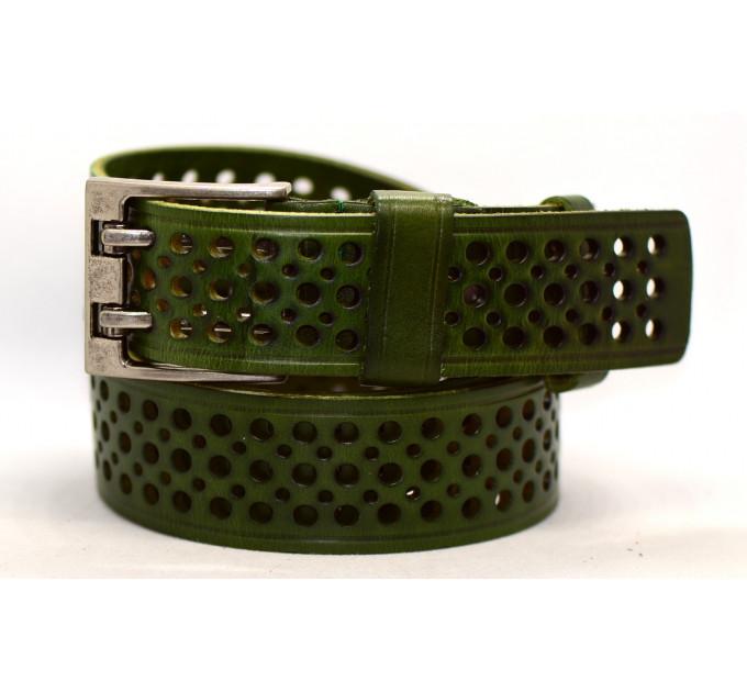 Женский ремень для джинсов J40-101 темно-зеленый