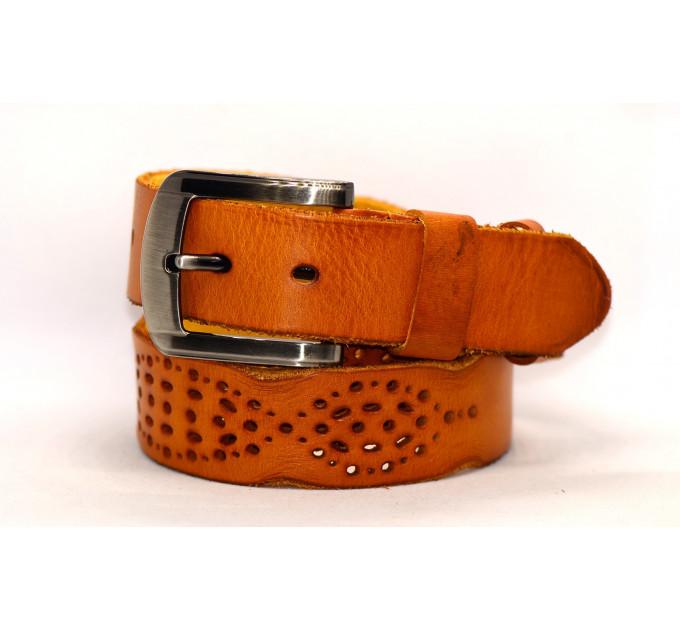 Женский ремень для джинсов J40-107 коричневый