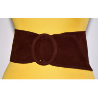 Широкий женский ремень GK-001 коричневый