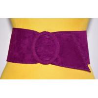 Широкий женский ремень GK-006 фиолетовый