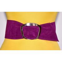 Широкий женский ремень GK-009 фиолетовый