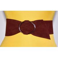 Широкий женский ремень GK-020 коричневый