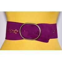 Широкий женский ремень GK-021 фиолетовый