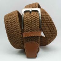 Ремень-резинка Rez35-022 коричневый