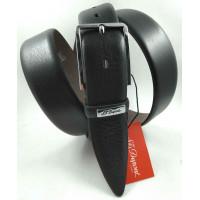Мужской классический ремень Exclusive CB35-002 черный