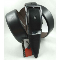 Мужской классический ремень Exclusive CB35-003 черный