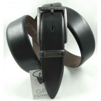 Мужской классический ремень Exclusive CB35-016 черный
