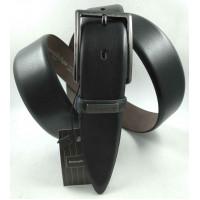 Мужской классический ремень Exclusive CB35-017 черный