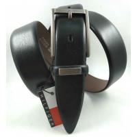 Мужской классический ремень Exclusive CB35-021 черный