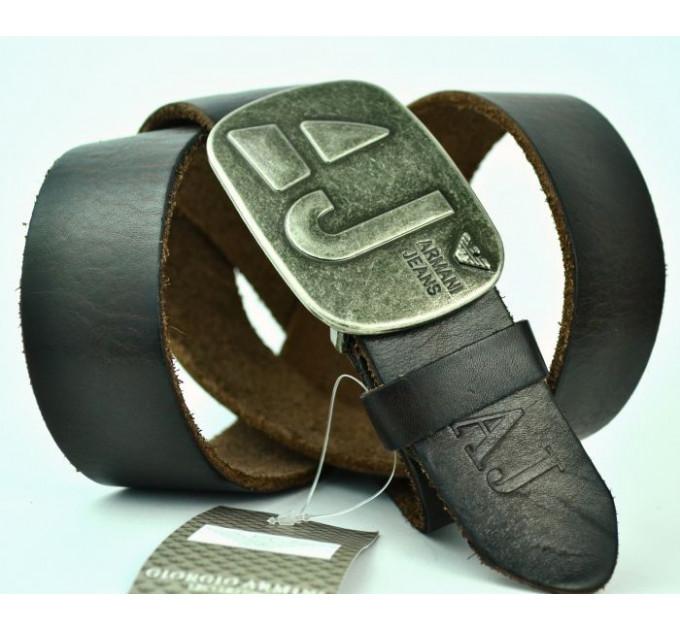 Мужской ремень джинсовый Exclusive ar40-010 коричневый