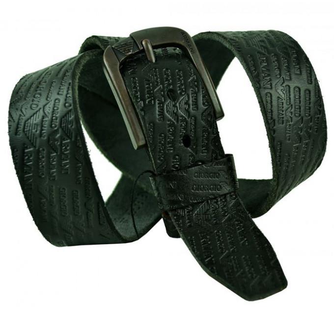 Мужской ремень джинсовый Exclusive ar40-032 черный