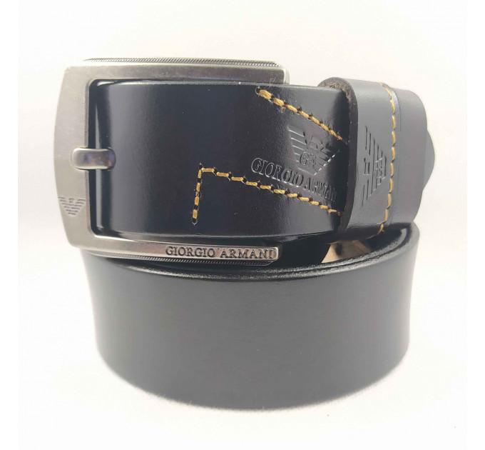 Мужской ремень джинсовый Exclusive ar40-098 черный