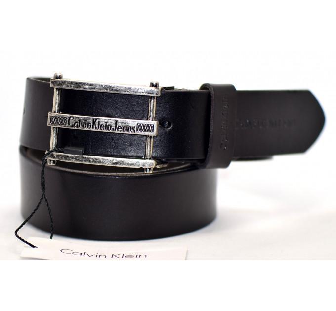 Мужской ремень джинсовый Exclusive ck40-023 черный
