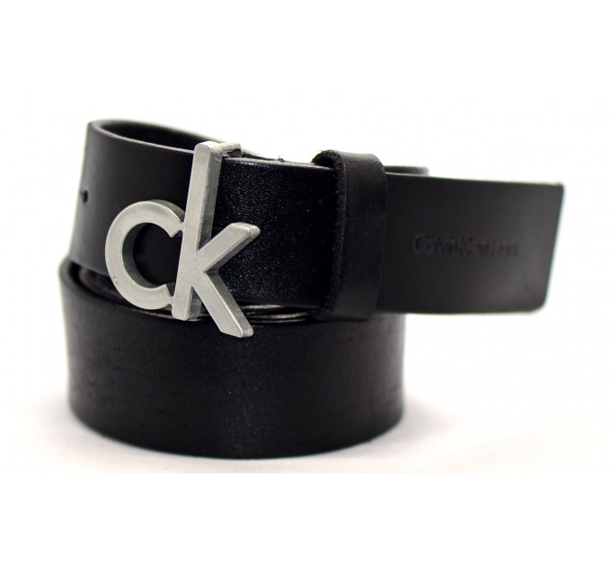 Мужской ремень джинсовый Exclusive ck40-025 черный