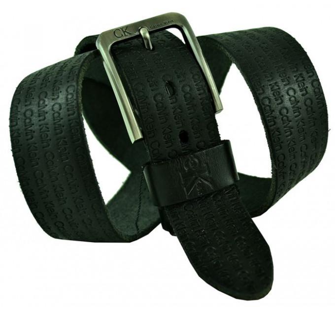 Мужской ремень джинсовый Exclusive ck40-051 черный