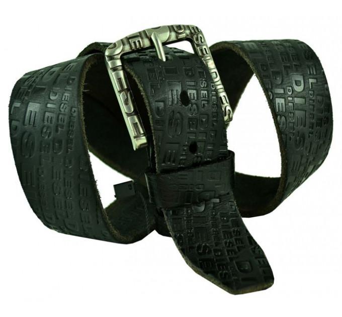 Мужской ремень джинсовый Exclusive DS40-057 черный
