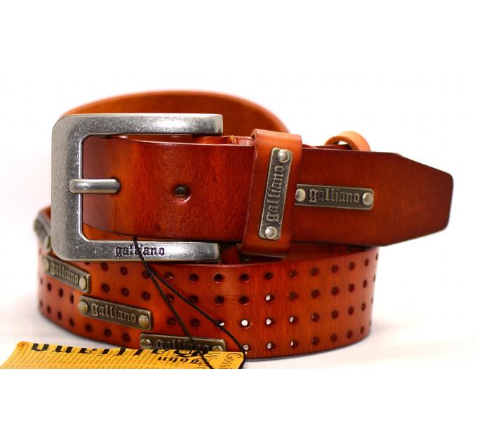 Мужской ремень Gl40-001 оранжевый