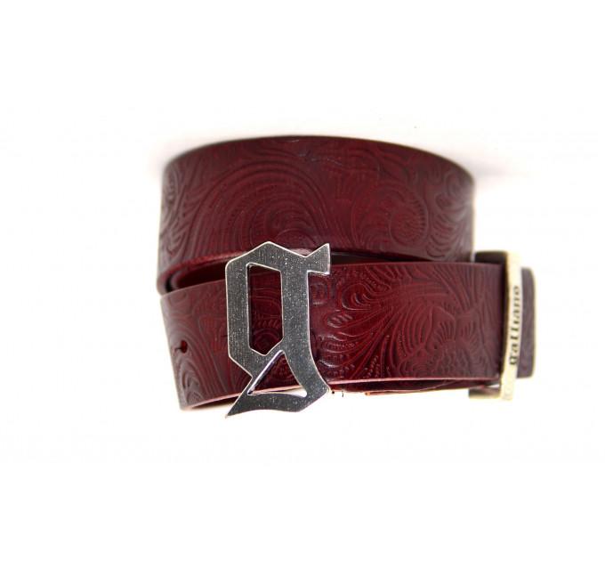 Ремень джинсовый Gl40-010 коричневый