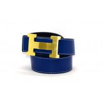 Ремень H35-010 синий