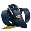 Мужской ремень джинсовый Exclusive hb40-013 синий