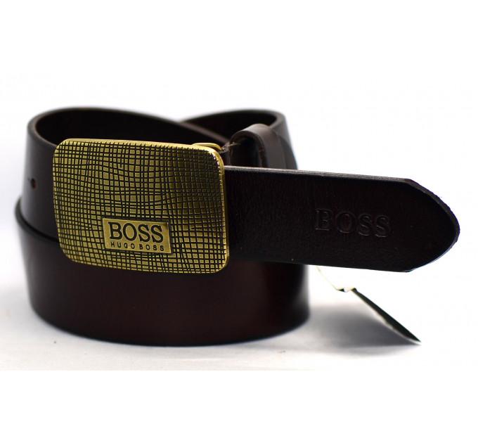 Мужской ремень джинсовый Exclusive hb40-019 черный