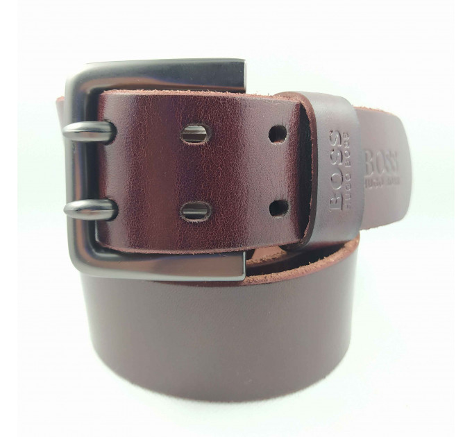 Мужской ремень hb45-005 коричневый