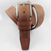 Ремень классический YT & TI C35-115 коричневый