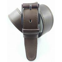 Мужской ремень джинсовый OSCAR С40-067 коричневый