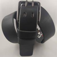 Мужской ремень джинсовый BELT PREMIUM C40-092 черный