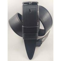 Мужской ремень джинсовый BELT PREMIUM C40-097 черный