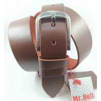 Мужской ремень джинсовый Mr.Belt C40-111 коричневый