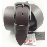 Мужской ремень джинсовый Mr.Belt C40-113 коричневый
