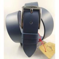 Мужской ремень джинсовый Mr.Belt C40-117 синий