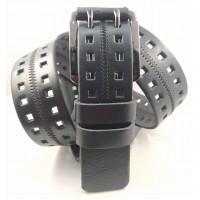 Мужской ремень джинсовый Mr.Belt C40-128 черный