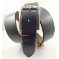 Мужской ремень джинсовый BT.BELT C40-129 темно-коричневый