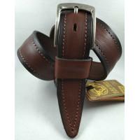 Мужской ремень джинсовый DNKA С40-149 коричневый
