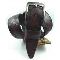 Мужской ремень джинсовый DNKA С40-157 фиолетовый