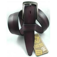 Мужской ремень джинсовый DNKA С40-159 фиолетовый