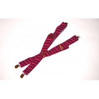 Подтяжки галстучные P35-003 красный