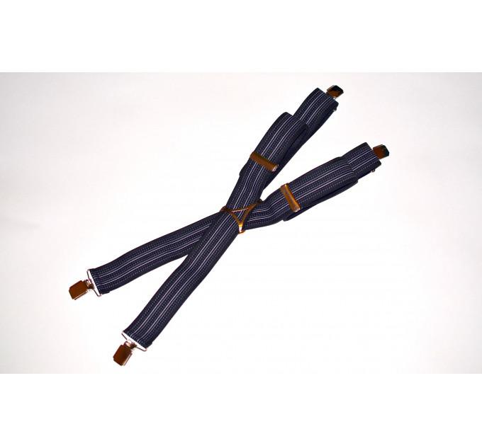 Подтяжки галстучные P35-007 синий